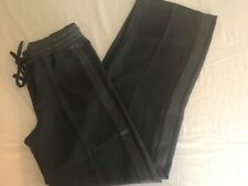 Banana Republic gray tuxedo pants women's 14 long tall with pockets NEW