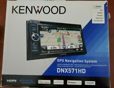 Kenwood Car Stereo DNX571HD Bluetooth, GPS, DVD, HD Radio, USB - Includes Cables