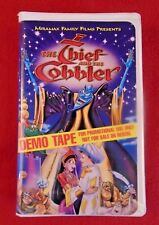 The Thief And The Cobbler (VHS, 1997) DEMO TAPE  Vincent Price Matthew Broderick