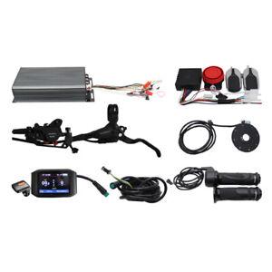 EU DUTY FREE 48V-72V 80A 2500W-4000W Sabvoton Controller lcd Kit eBike