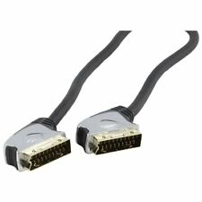 HQ 10m HQ SCART Cable with 24k Gold Plated Plugs and Double Screened OFC Cable