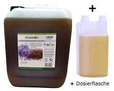 Leinöl 5 L Kanister + 1 L Dosierflasche 6 L kaltgepresst Pferde Tiere