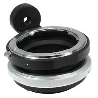 Tilt Shift Nikon F Lens to Sony E Mount Nex Adapter NEX7 NEX6 NEX5 A9 A7 II III
