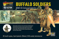 BUFFALO SOLDIERS - BOLT ACTION - WARLORD GAMES WW2 28mm WARGAMING