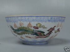 New listing Old Signed Chinese or Japanese Porcelain Bowl - EggShell Thin Transfer Decor Pc