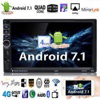 7in 2 Din WiFi Auto Radio Quad-core Android Bluetooth GPS Navi 1080P MP5 Player
