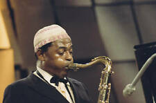 OLD MUSIC PHOTO Archie Shepp Us Jazz Saxophonist Playing The Saxophone