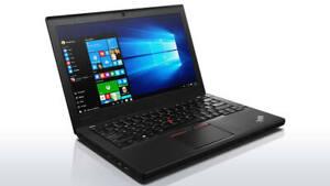 "Lenovo ThinkPad X260 12.5"" IPS Full HD laptop i7-6600u @2.6Ghz 8G 256G SSD W10P"