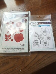 Creative expressions Sue Wilson Festive Collection Stamp And Die Set