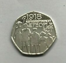 Representation of the People Act 1918 50p 50 Pence coin UK COIN HUNT Collectible