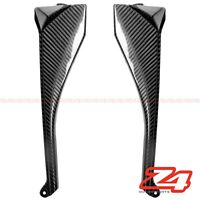 2008 2009 Ninja ZX-10R Upper Front Dash Air Duct Cover Fairing Cowl Carbon Fiber