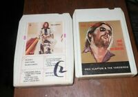 Two 8 Track Tapes- Eric Clapton 1st Self Titled, Eric Clapton & The Yardbirds