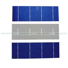 80pcs 2x6 High Efficiency Poly Solar Cells for DIY Solar Panel Charger 1.37W/pc