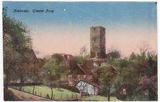 Zwischenkriegszeit (1918-39) Normalformat Ansichtskarten aus Niedersachsen für Burg & Schloss