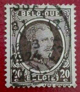 Belgium:1922 -1925 King Albert 20 c. Rare & Collectible Stamp.