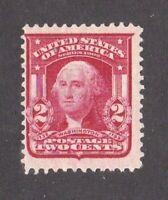 United States stamp #319f, MHOG, type 1, SCV $10.00