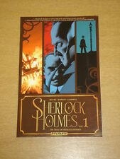 Sherlock HOLMES VOL 1 prova di dinamite comics graphic novel 9781606900598