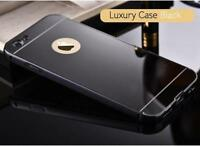 Luxury Aluminum Ultra thin Mirror Hard Metal Case Cover for iPhone 8 7 6s 6 Plus