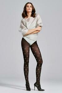 Fiore Smile 40 Tights Pantyhose Hosiery Nylons Size[S-L]