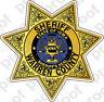 STICKER SHERIFF WARREN COUNTY IA