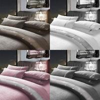 Teddy Duvet Cover Set Single Double Super King Reversible Luxurious Bedding New