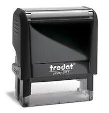 Custom Trodat 4912 / Ideal 80 Self-Inking 4 Line Office Return Address Stamp