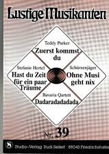 Lustige Musikanten. Piano, Vocal, Chords. Bd.39.