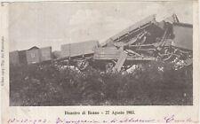 DISASTRO FERROVIARIO DI BEANO - CODROIPO 27/8/1903 - TRENO FERROVIA (UDINE)