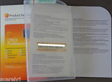 Microsoft OFFICE Professional 2010 BOX Vollversion Dauerhafte Lizenz PKC DEUTSCH