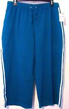 New Sjb Active Womens Aqua Exercise Pants Size 1X Nwt!
