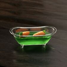 "30 Fingerfood Schale ""Badewanne"" 12,1x5,4x4,7cm 90 ml Catering glasklar (FI009)"