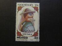 1981 - MEXICO - CHRISTMAS, SHEPHERD - SCOTT 1252 A389 50C
