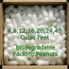 Biodegradable Packing Peanuts Shipping Loose Fill 4 8 12 16 20 24 40 Cubic Feet