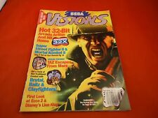 Sega Visions Magazine August/September 1994 Fahrenheit Sega 32x Cover