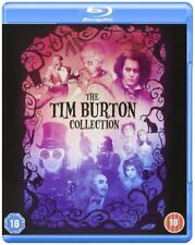 The Tim Burton Collection [Blu-ray Box Set Region Free 8-Movies Pee-wee Batman]
