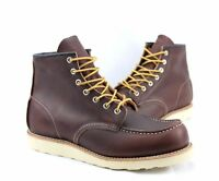 """Red Wing Men's (Briar) Classic Moc 6"""" Boots 08138-1 *Made in USA*"""