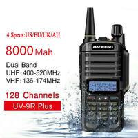 UV-9R Plus Baofeng UV 9R VHF UHF Walkie Talkie Dual Band Handheld Two-Way Radio.
