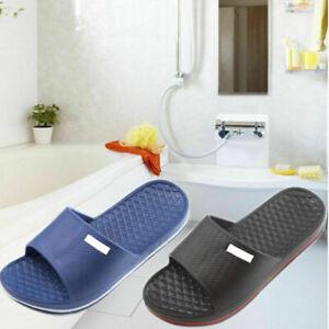 Men's Slip On Sport Slide Sandals Flip Flop Shower House Pool Slippers N6K9 J3J8