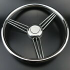 New 9 Spoke Stainless Steel Marine Boat Steering Wheel 13-1/2'' Stable Design