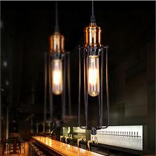 Vintage Style Industrial Metal Chandelier Light Retro cafe Bar DIY Pendant lamp