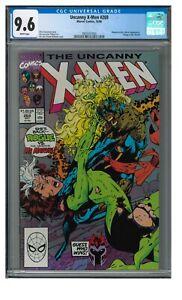 Uncanny X-Men #269 (1990) Rogue vs. Ms. Marvel CGC 9.6 LK989