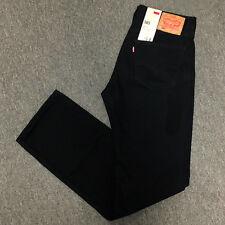 Levi's Men's 505 Regular Fit Jeans Black 30x34