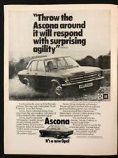 Opel/Vauxhall Cars Automobilia Advertising Collectables