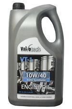 VALVOTECH 10W40 SEMI SYNTHETIC CAR VAN ENGINE OIL 5 LITRE 5L 10 40 10W 40 VT-1