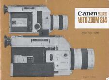 Canon Auto Zoom 814 Instruction Manual