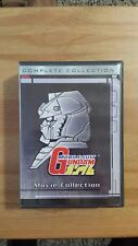Gundam UC Movie Collection Bandai DVD Collection (Trilogy, Chars Counterattack)