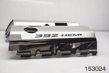 "SRT & SRT8 392 6.4L Polished Fuel Rail Covers with ""392 HEMI"" Illuminated"