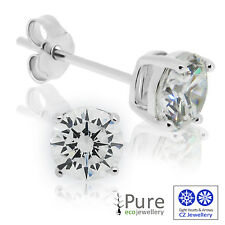 CZ Stud Earrings - 5mm