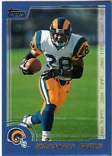 Marshall Faulk St. Louis Rams Football Trading Cards  3792bb01e