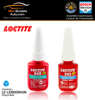PROMO LOCTITE 243 Frein Filet Moyen 5ml + LOCTITE 648 Frein Filet Fort 5ml